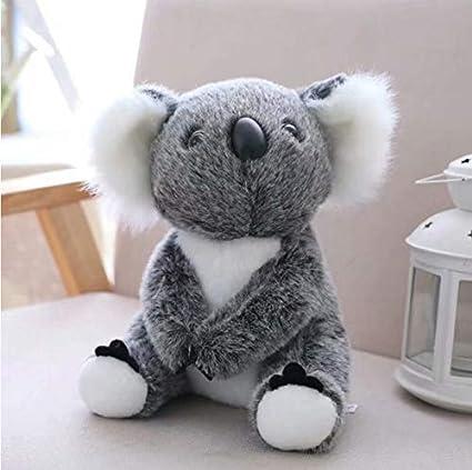 wanxiangguichun Sombrero Gris Lindo Koala De Peluche ...
