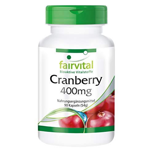 크랜베리 풍부한 Proanthocyanidins, 400 밀리 그램, 첨가제 없이 90 채식 캡슐