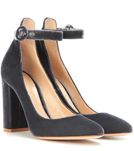 soirée 35 Femmes robe Formelle Chaussures National Mariage Stiletto Talons été Printemps couleur Taille Pointues Une Wor Talon Business Suede Xue Style B 7qRdxOw6R