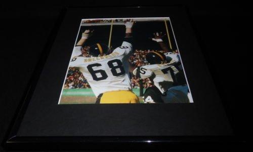 Greenwood Lc Steelers (LC Greenwood & Mean Joe Green Steel Curtain Framed 11x14 Photo Display Steelers)