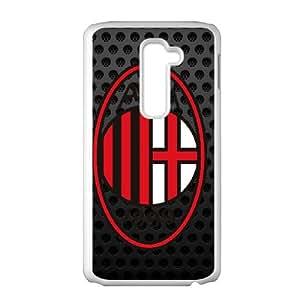 AC Milan LG G2 Cell Phone Case White VC9N00G1