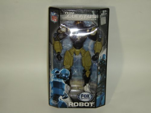 "NFL New Orleans Saints 10"" Team Cleatus FOX Robot Action Figure Version 2.0"