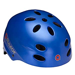 Razor V-17 Child Multi-Sport Helmet, Satin Blue