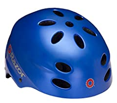 Uniting superior quality with a cutting-edge design, the Razor V- 17 multi-sport helmet is ideal for biking, skating, or any other sport that requires protective headgear. The helmet is equipped with ergonomic padding to keep the rider comfor...