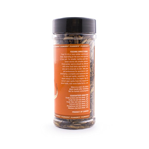 Picture of Fluker'S 72028 Dried Soldierworms 2.2Oz