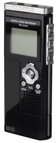 Olympus WS-331M Digital Voice Recorder and WMA Music Player