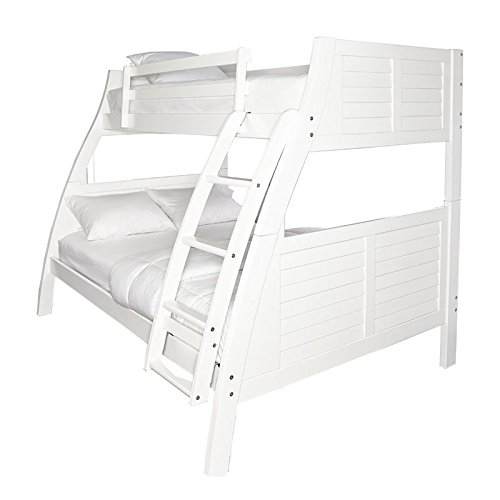 Powell Furniture 16Y8185BBW Easton Bed, Bunk (Powell Kitchen Bed)