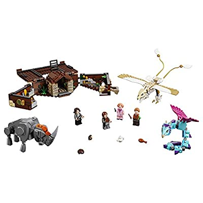LEGO Fantastic Beasts Newt's Case of Magical Creatures 75952 Building Kit (694 Pieces): Toys & Games