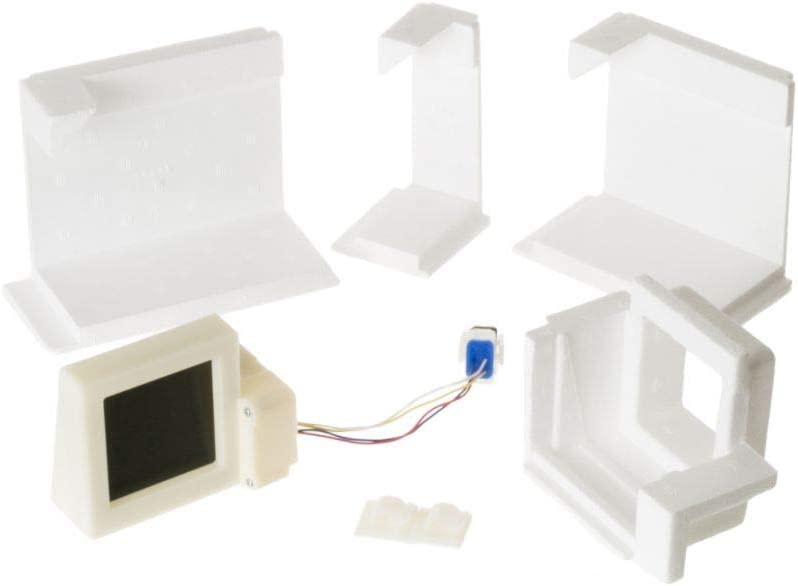 GE WR49X10107 Refrigerator Air Damper Control Kit Genuine Original Equipment Manufacturer (OEM) Part