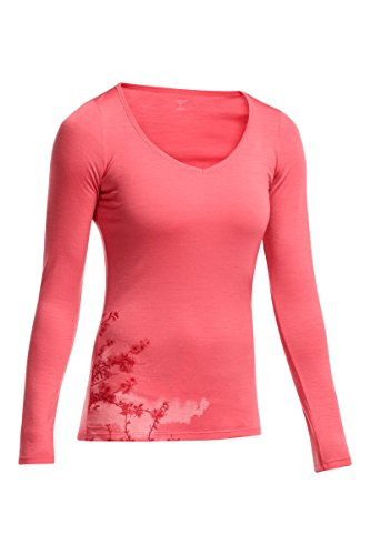 Sweetheart Jumper (Icebreaker Women's Siren Long Sleeve Sweatshirt, Grapefruit, Small)