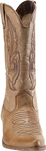 Donna Cowboy SimpleC Western Stivali da Tan Stivali Abbronzatura XxpwTAEp