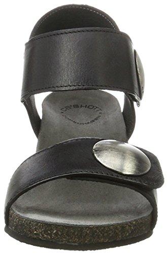 Ca'ShottA8020 - Sandalias de Punta Descubierta Mujer negro (negro Tomcat 80)