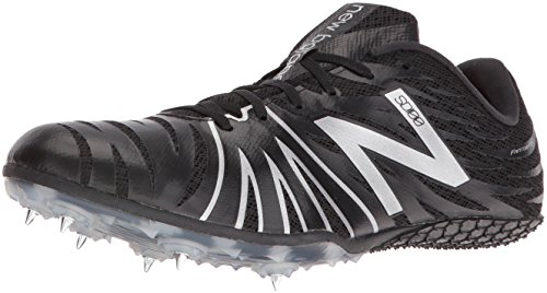 New Balance Mens USD100V1 Track Shoes Black/Silver 6CQJnqnvr