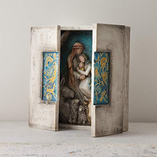 Willow Tree hand-painted sculpted nativity, Starry Night Nativity by Susan Lordi by Willow Tree (Image #1)