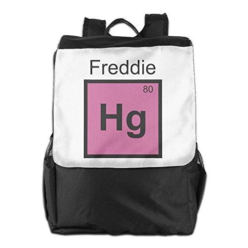 Freddie Krueger Costumes (Rongyingst Freddie Messenger Bag Shoulder Backpack Travel Hiking Rucksack For Womens Mens Boys Girls School Bookbags One Size)