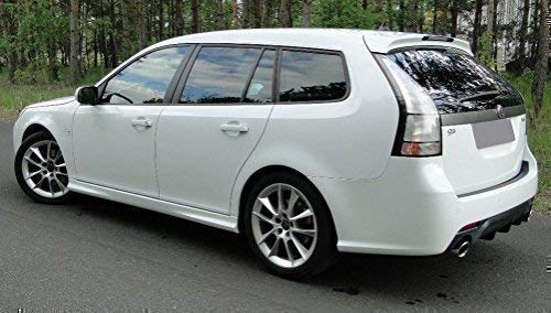 Saab 9-3 Rear Diffuser Diffuser AB 2007 Spoiler tuning-deal