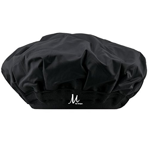 Thermal Heat Cap for Deep Conditioning, Hair Treatment, Hot & Cold Compress, HypoAllergenic, Cordless, Microwavable & Reusable, by M Hair Designs