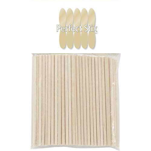 Perfect Stix Dowel 2.5-250ct Mini Wooden Dowels, 2.5