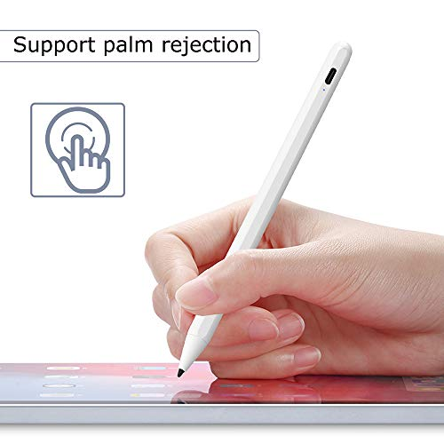 SUNTAIHO Stylus Pen for iPad with Palm Rejection, Digital Pen with Magnetic Compatible with (2018-2020) iPad Pro 11 & 12.9 inch/iPad 7th Gen/iPad 6th Gen/iPad Air 3rd Gen-606