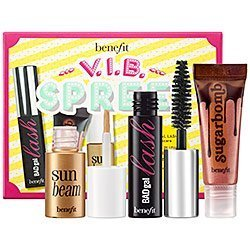 Benefit Cosmetics Sephora VIB Spree Boxed Set of BadGal Mascara, Sun Beam, and Sugarbomb
