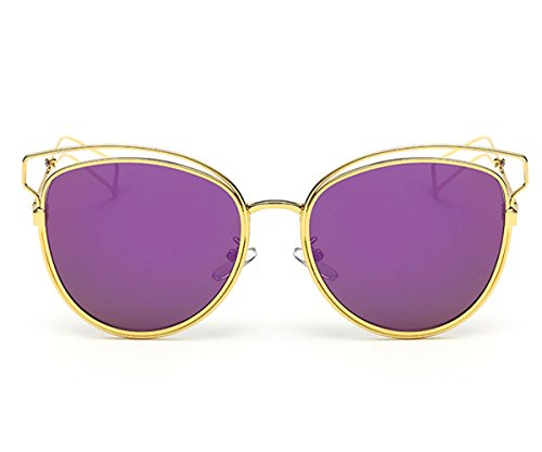 Heartisan Personlized Hollow Metal Cat Eye Frame Full Rim Sunglasses for Womens - Buy Online Designer India Sunglasses