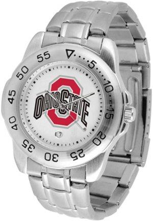 - Ohio State Buckeyes Men's Sport ''Game Day Steel'' Watch