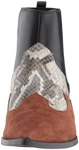 Nine West Women's Cedar Suede Boot, Cognac Multi, 6.5 M US