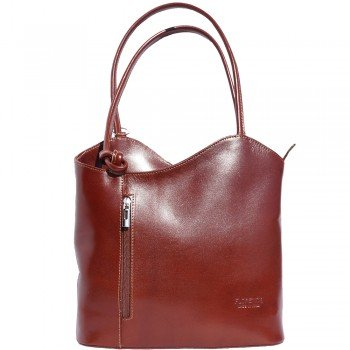 LaGaksta Easy Carry Backpack Purse Brown