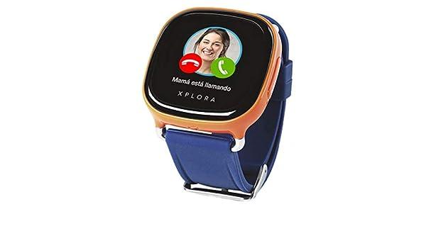 Reloj EXPLORA 1 Naranja/Azul: Amazon.es: Electrónica