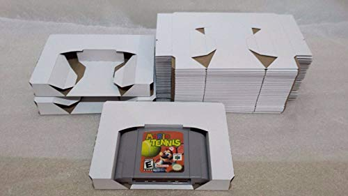 10 Reproduction Tray Inserts White Box Lot for N64, used for sale  Delivered anywhere in USA