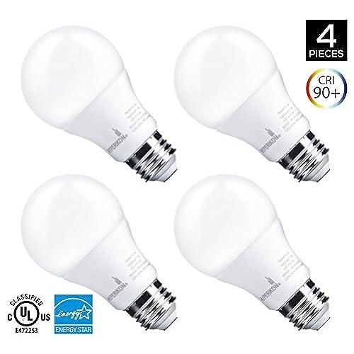 high cri led light bulb 5000k amazon com