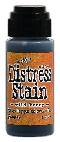 ranger-tdw-29922-tim-holtz-distress-stain-fluid-water-based-dye-wild-honey-1-ounce