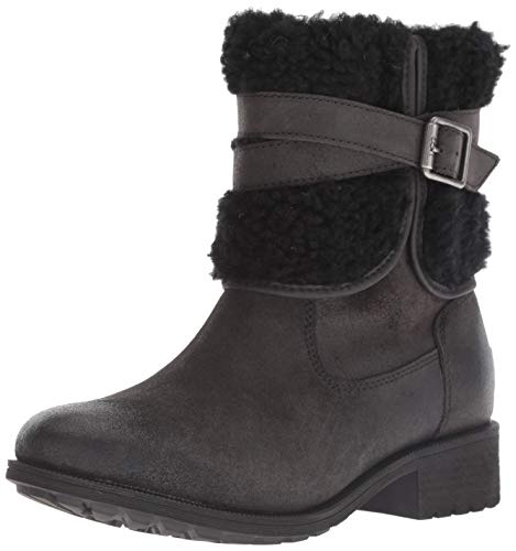 UGG Women's W Blayre Boot III Fashion, Black, 9 M US