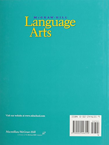 McGraw Hill Language Arts Grade 6 by Macmillan/McGraw-Hill School Div (Image #1)