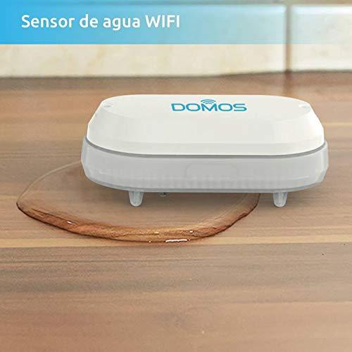 Domos SP-0. Sensor de agua e inundación wifi, monitorizable desde cualquier lugar, sin necesidad de hub. Combinable con otros productos Domos. ...