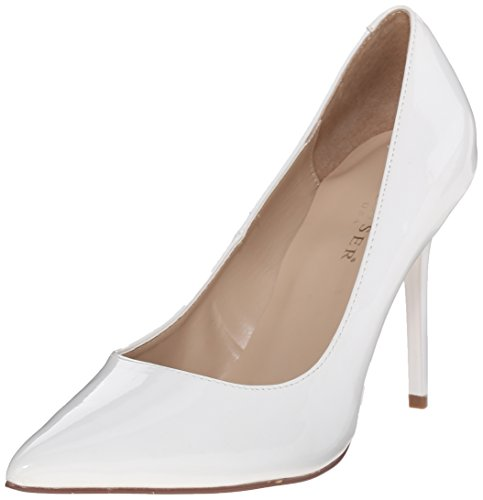 Wht Pleaser Classique Pat Mujer 20 Tacones wrFBqnYIFx