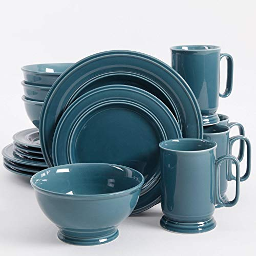 Better Homes and Gardens Admiraware 16-Piece Dinnerware Set,