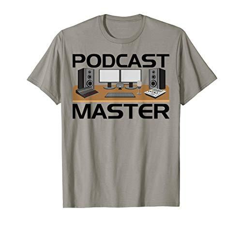 Podcast Equipment Kit USB Mixer App T-Shirt for Podcasters (Ucast Podcasting Kit)