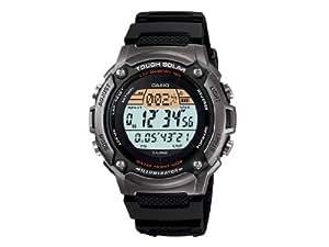 CASIO Collection W-S200H-1AVEF - Reloj de caballero de cuarzo, correa de resina color negro