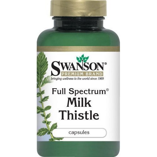 Full Spectrum Milk Thistle 2 Bottles 100 Capsules Per Bottle