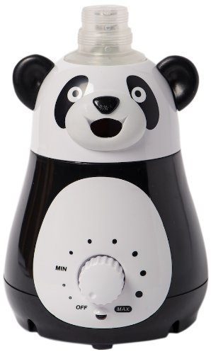 Bell+Howell Ultrasonic Panda Design Personal Portable Humidifier for Kids and Babies -Cool Mist- lasts up to 12 hours per water bottle