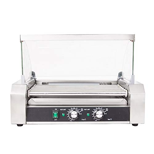 Intbuying 110V US Seller items Popcorn Commercia Hot Dog 7 Roller Grilling Machine Hot Selling by INTBUYING (Image #4)