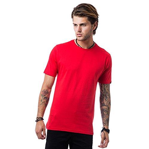 Camiseta Liv Clothing Basic Line - Vermelho - M
