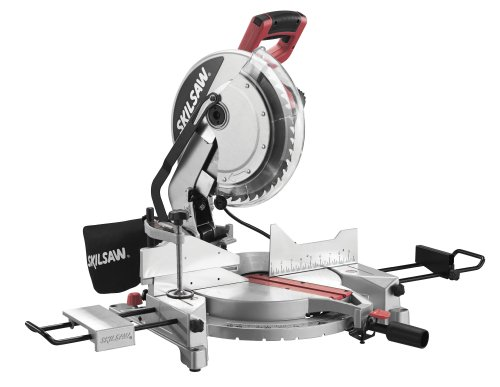 SKIL 3821-01 12-Inch Quick Mount Compound Miter Saw with Laser (10 Inch Or 12 Inch Miter Saw)