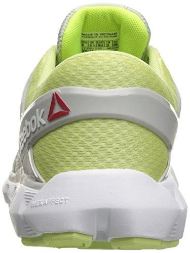 Skull MTM Hexaffect Run Women's White Black Reebok Lemon Zest Walking 4 Yellow 0 Shoe Grey Solar HzxXWnW