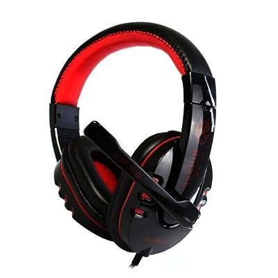 Mokingtop(TM) Fashion New Stereo Gaming Headset Headphone with Microphone Mic