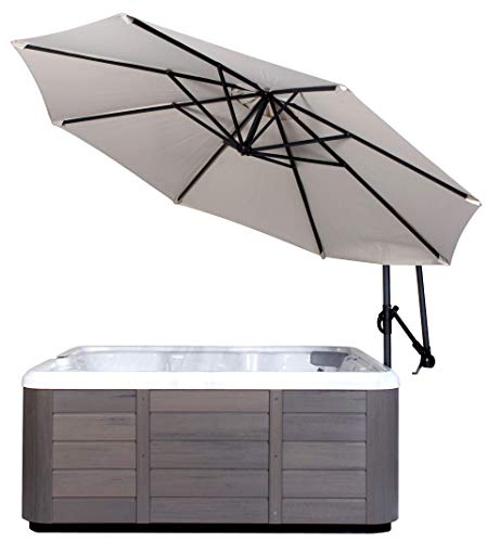 (Cover Valet SSURC Spa Side Umbrella, Creme)