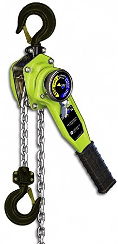 All Material Handling LA063-20U Lever Chain Hoist, USA Load Chain, 7 (6.3) Ton, 20' Lift