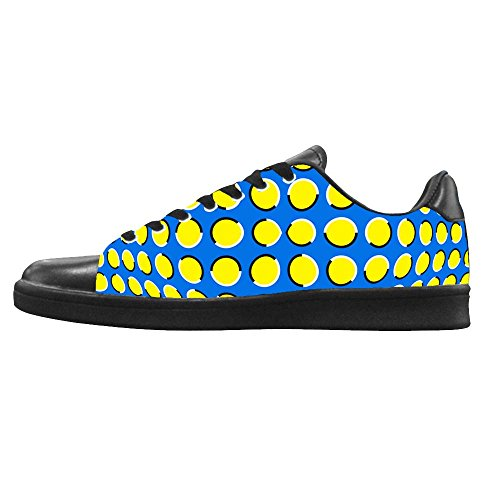 Dalliy polka dots Mens Canvas shoes Schuhe Lace-up High-top Footwear Sneakers B