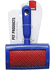 Komei Brush For Cats & Dogs - Blue&Red